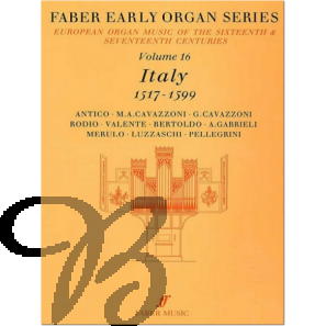 Early Organ Series Vol. 16 - Italy (1517-1599)