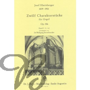 Zwölf Charakterstücke op.156 band 1