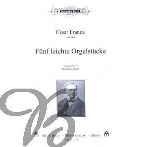 Fünf leichte Orgelstücke