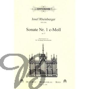 Sonate nr. 1 c-moll op.27