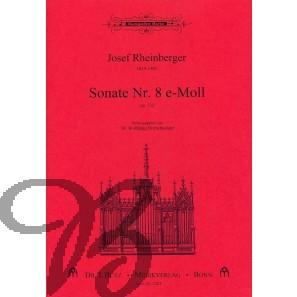 Sonate nr. 8 e-Moll op.132