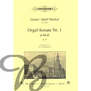 Orgelsonate 1 d-moll, op.30