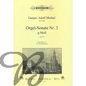 Orgelsonate 2 g-moll, op. 42