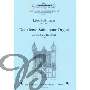 Deuxième Suite pour Orgue op.27