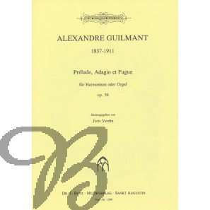 Prélude Adagio et Fugue op.56