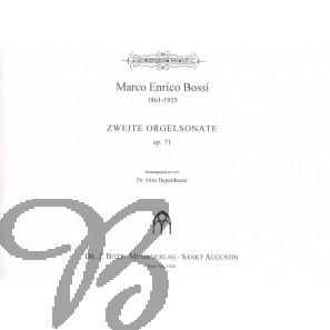 Zweite Orgelsonate op.71