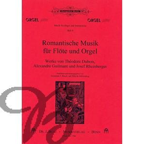 Romantische Musik für Flöte und Orgel