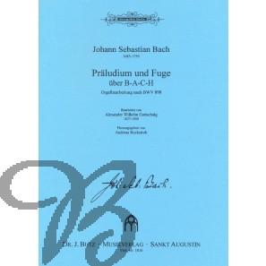 Präludium und Fuge über B-A-C-H (BWV898)