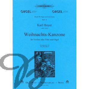 Weihnachts-Kanzone (Violine/Flöte & Orgel)