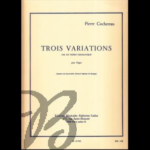 Trois Variations sur un Thème chromatique