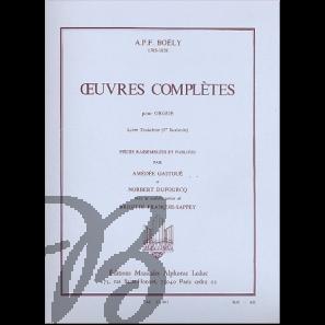 Oeuvres Complètes pour orgue 1