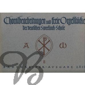 Choralbearbeitungen und freie Orgelstücke der deutschen Sweelinck-Schule - Band 2