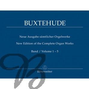 Neue Ausgabe Sämtliche Orgelwerke, Band 1-5 komplett