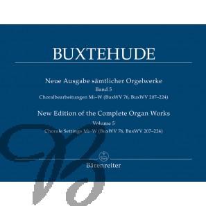 Sämtlicher Orgelwerke 5 (Neue ausgabe)