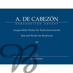 Ausgewählte Werke für Tasteninstrumente III