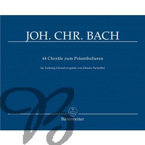 44 Choräle zum Präambulieren