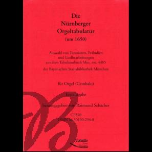 Die Nürnberger Orgeltabulatur um 1650