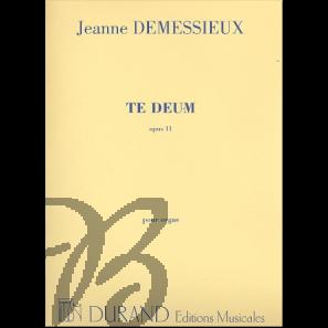 Te Deum op. 11 pour Orgue