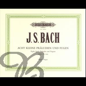 Acht kleine Präludien und Fugen (BWV 553-560)