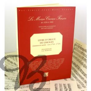 Livre d'Orgue de Limoges