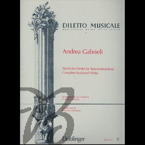 Sämtliche Werke für Tasteninstrumente III - Gabrieli, Andrea (1532-1585)