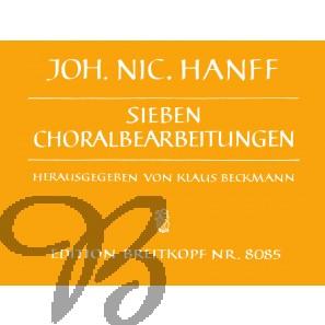 Sieben Choralbearbeitungen - Hanff, Johann Nicolaus (1665-1712)