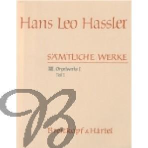 Sämtliche Werke XIII/1, Orgelwerke I