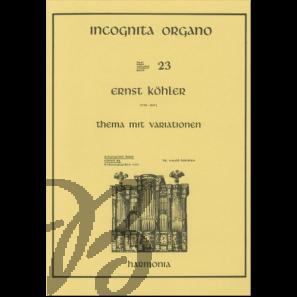 Thema mit Variationen, op. 26