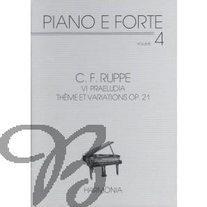 VI Praeludia / Thème et Variations, op.21