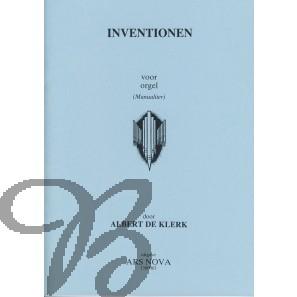 Inventionen voor orgel (manualiter) - Klerk, Albert de (1917-1998)