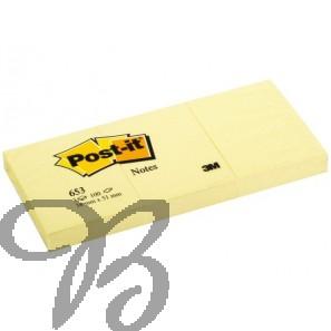 Memoblaadjes Post-it 38x51mm Geel