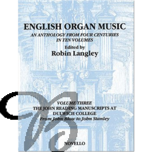 English Organ Music Vol. 3: The John Reading Manuscript at Dulwich College