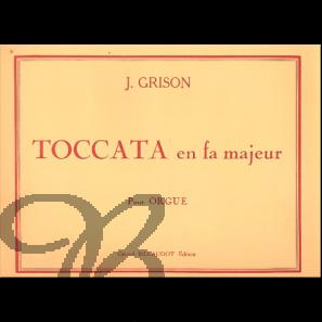 Toccata en fa majeur - Grison, Jean Baptiste Jules (1842-1896)