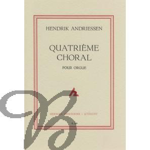 Quatrième Choral pour orgue