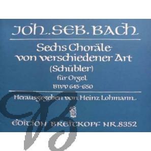Sechs Choräle von verschiedener Art BWV 645-650 (SchüblerChoräle) - Bach, Johann Sebastian (1685-1750)