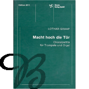 Macht hoch die Tür (Choralpartita für Trompete und Orgel)