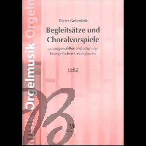 Begleitsätze und Choralvorspiele heft 2