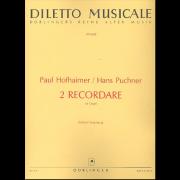 Recordare für Orgel (zusammen mit Recordare von Paul Hofhaimer)