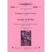 Sonate in B-Dur KV 292 (196c)