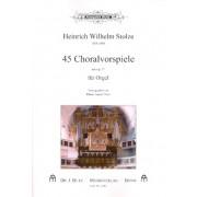 45 Choralvorspiele aus op.51