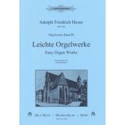 Leichte Orgelwerke - Orgelwerke band III