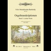 Orgeltranskriptionen - Band 3: Leichte Werke