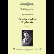 Orgelwerke 7: Choralgebundene Orgelwerke