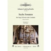Sechs Sonaten für Orgel, Klavier oder Cembalo (Krebs-WV 832-837)