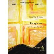 """Paraphrase """"Victimae paschali laudes"""" für Violine und Orgel"""