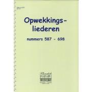 Opwekkingsliederen 587-698