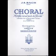 """Choral """"Mortifie-nous par ta Bonté"""" (Ertödt uns durch dein' Güte)"""