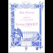 Dix Pièces pour orgue ou piano-pédalier