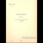 Trois Pièces pour grand orgue - Alain, Jehan (1911-1940)