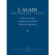 l'Oeuvre d'Orgue III - Alain, Jehan (1911-1940)